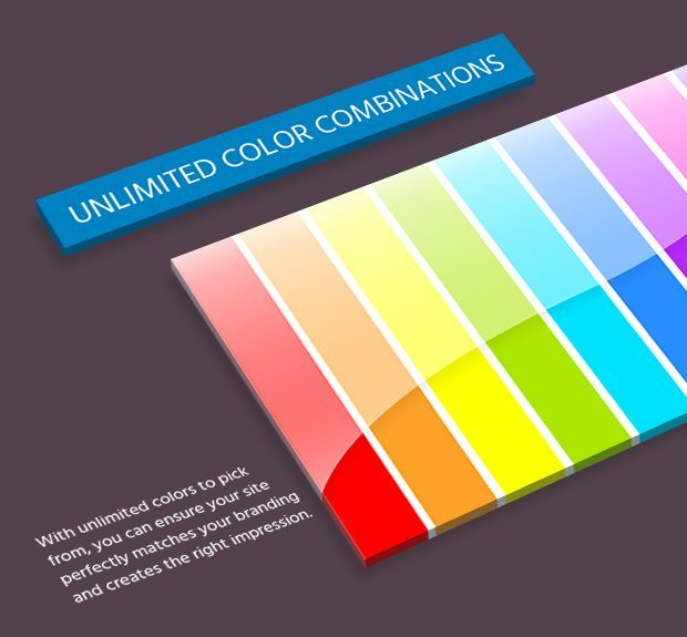 Unlimited Color Combinations