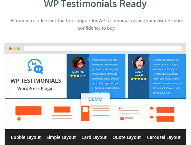 WP Testimonials Ready