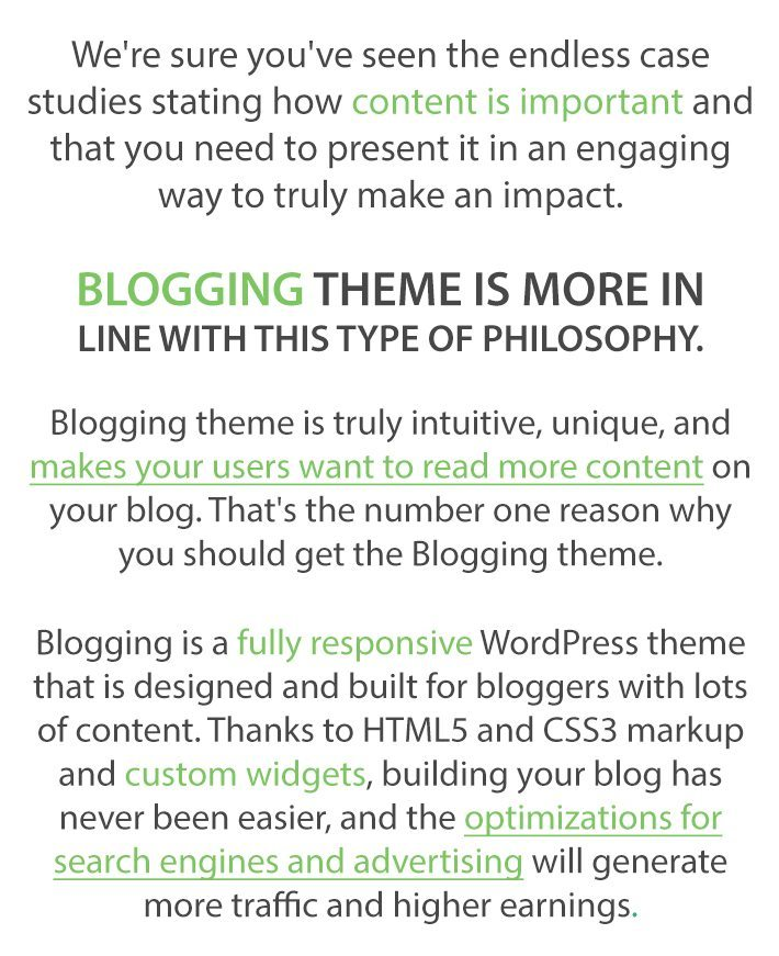 Blogging-Theme-Text