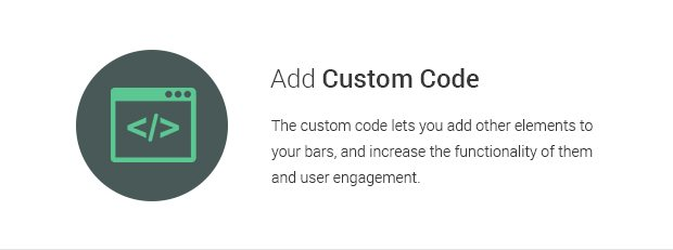 Add Custom Code