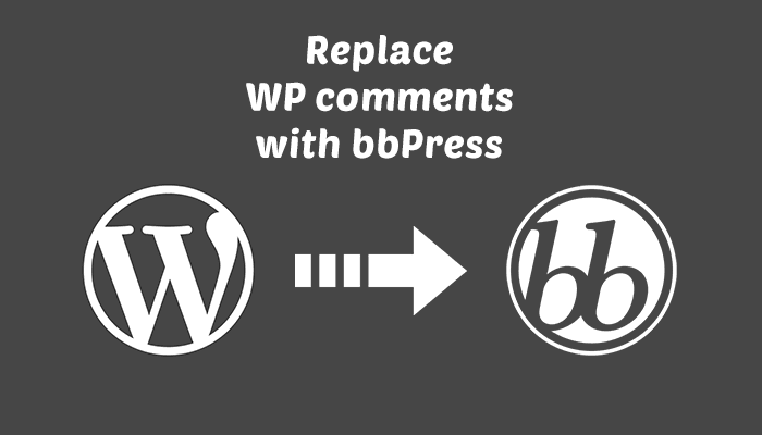 How to add a bbPress Forum to WordPress Posts as Comments