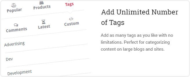 Add Unlimited Number of Tabs