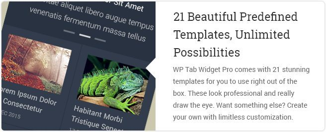 21 Beautiful Predefined Templates Unlimited Possibilities
