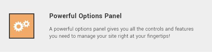Powerful Options Panel
