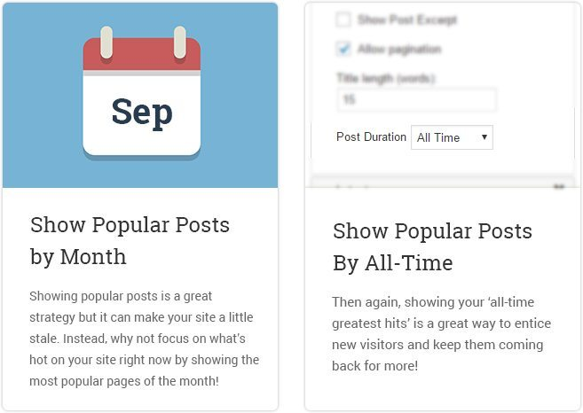 Show Popular Posts By Month