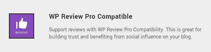 WP Review Pro Compatible