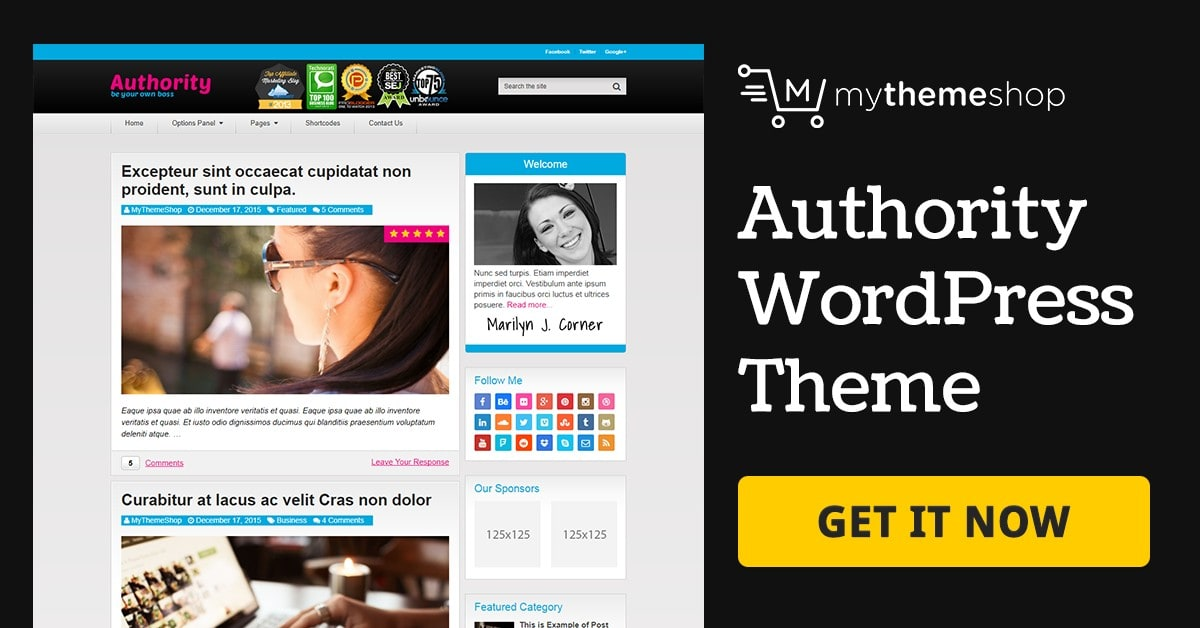 Download Authority v1.2.7 Premium WordPress Blogging Theme From MyThemeShop