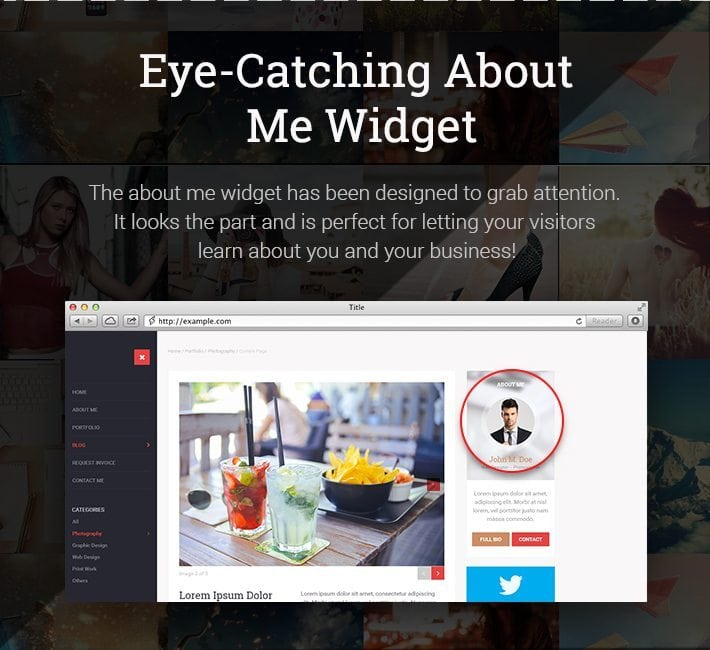 Eye-Catching-About-Me-Widget