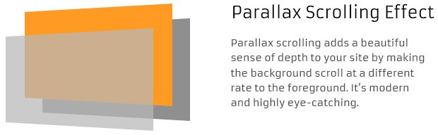 Parallax Scrolling Effect