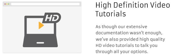 High Definition Video Tutorials