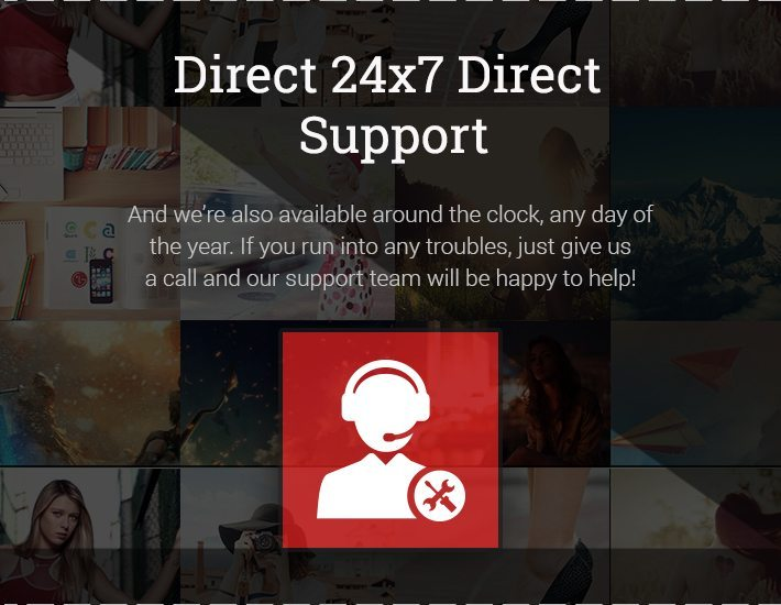 Direct 24x7 Direct Support