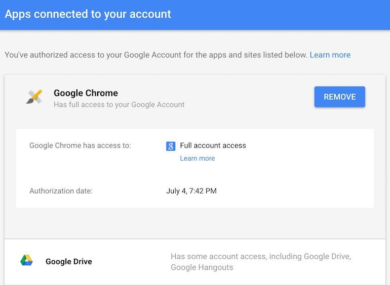 apps-connected-gmail