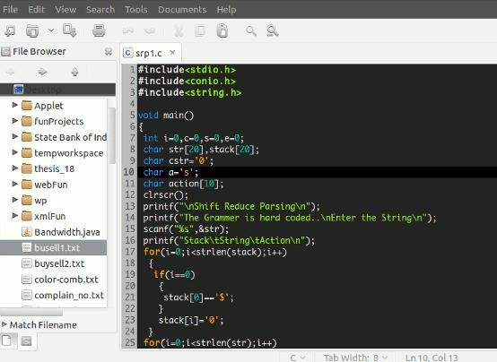 programing editor