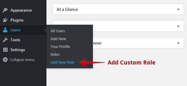 Create a Custom Role