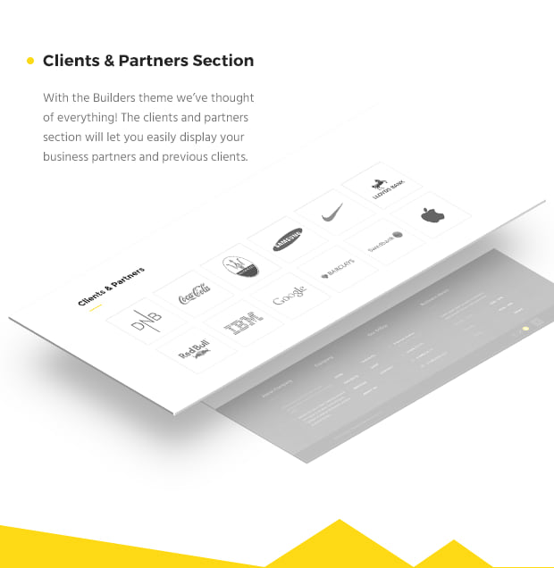 Clients And Partners Section