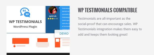 WP Testimonials Compatible