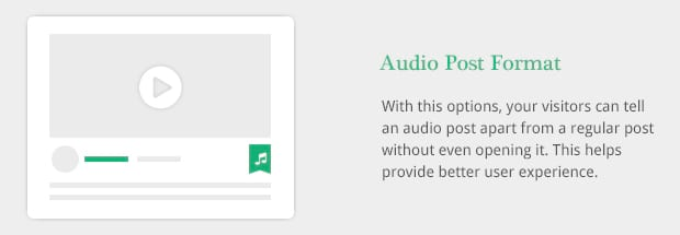 Audio Post Format