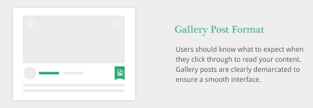 Gallery Post Format
