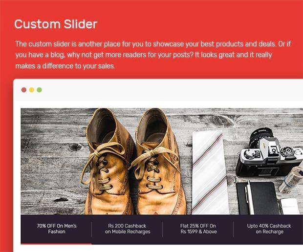 Custom Slider