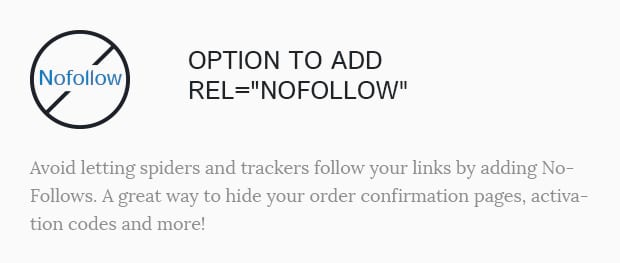 Option to Add Rel NoFollow