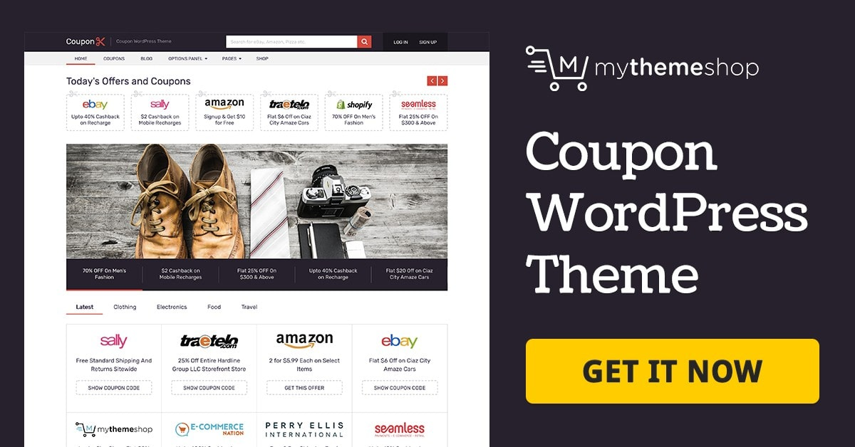 Coupon v2.1.15 Best WordPress Theme You Always Wanted To Increase Earning