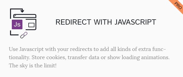 Redirect With Javascript