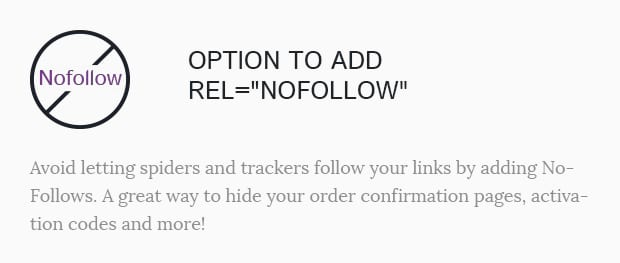 Option to Add Rel=NoFollow
