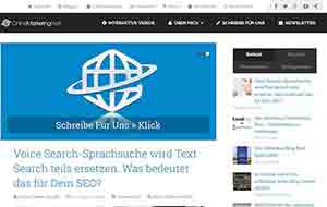 Online Marketing Welt