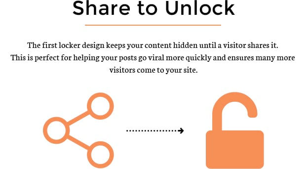 Share to Unlock