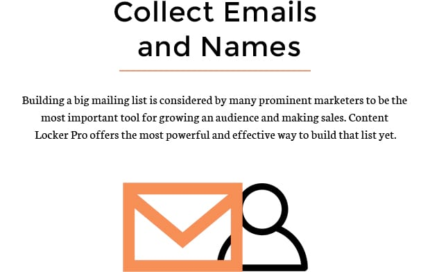 Collect Emails and Names