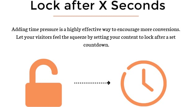 Lock After X Seconds
