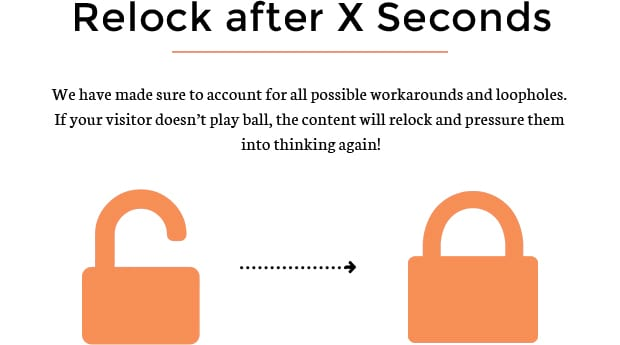 Relock After X Seconds