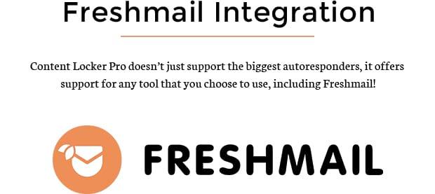 Freshmail Integration