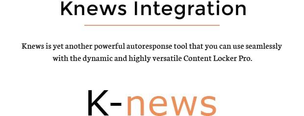 Knews Integration