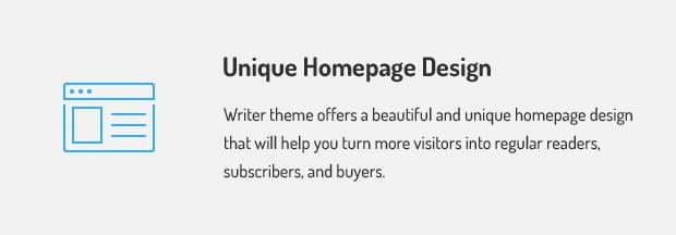 Unique Homepage Design