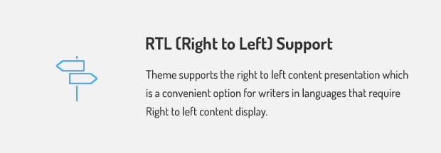 Right to Left Support