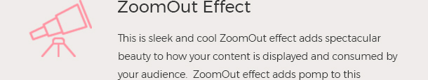 ZoomOut Effect