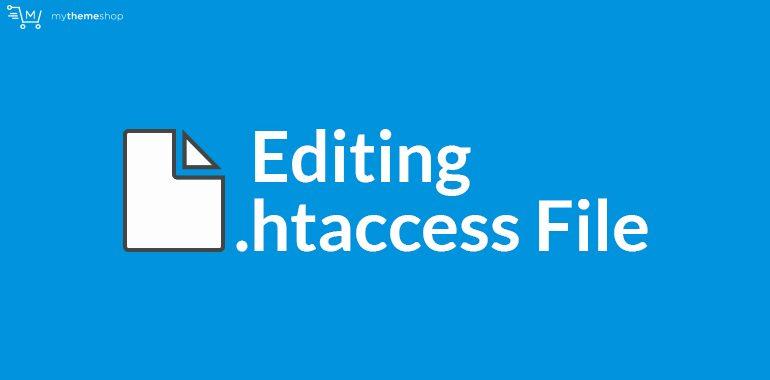 Editing-htaccess-File