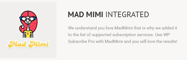 Mad Mimi Integrated