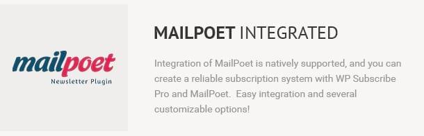 MailPoet Integrated