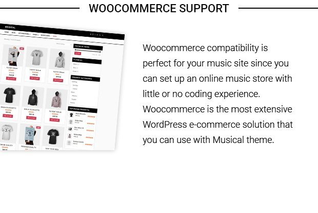 WooCommerce Support