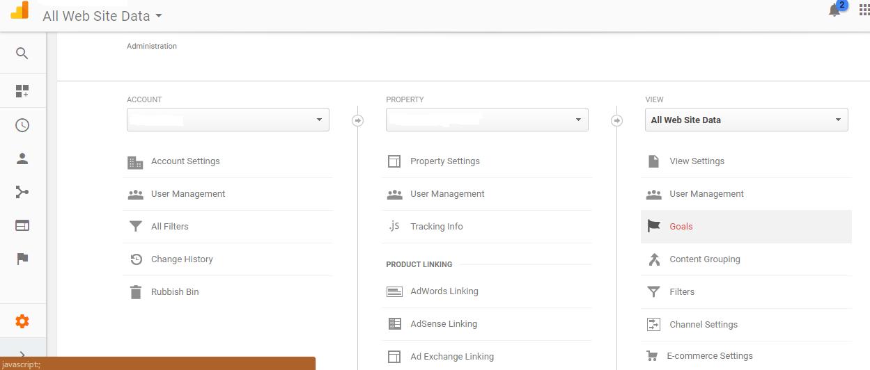 Step 1: Login to Google Analytics
