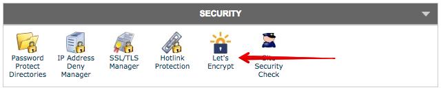 Open Let's Encrypt