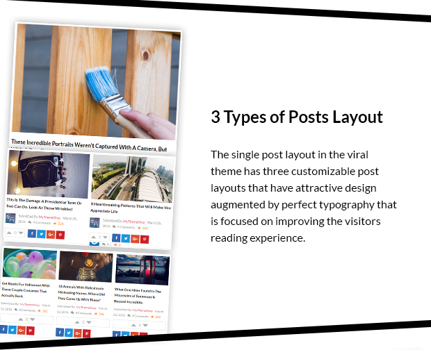 3 Types of Post Layouts