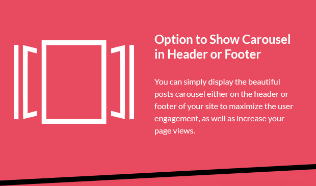 Option to Show Carousel in Header or Footer