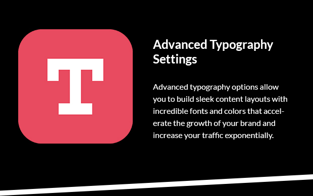 Advanced Typography Settings