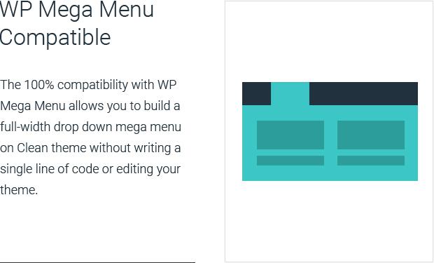 WP Mega Menu Compatible