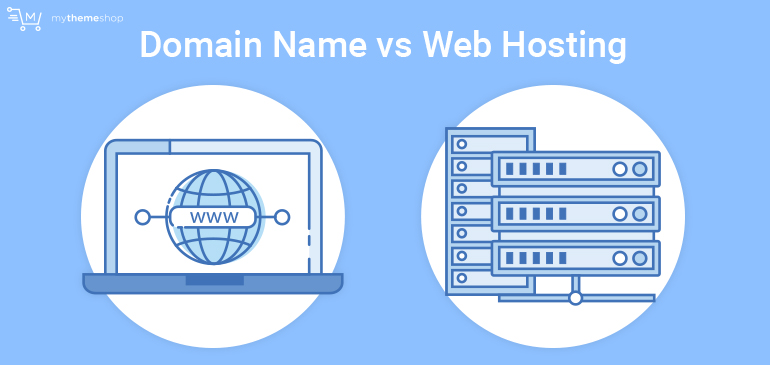 Difference Between a Domain Name and Web Hosting - The