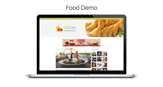 Viral Theme Food Demo