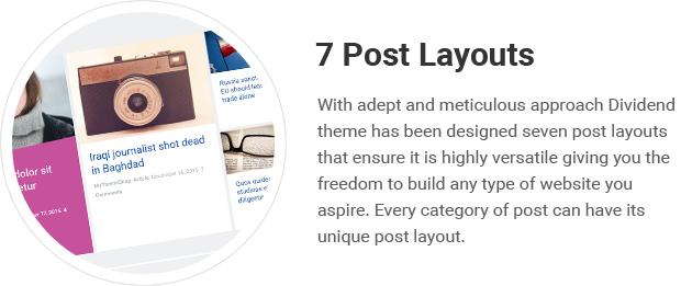 7 Post Layouts